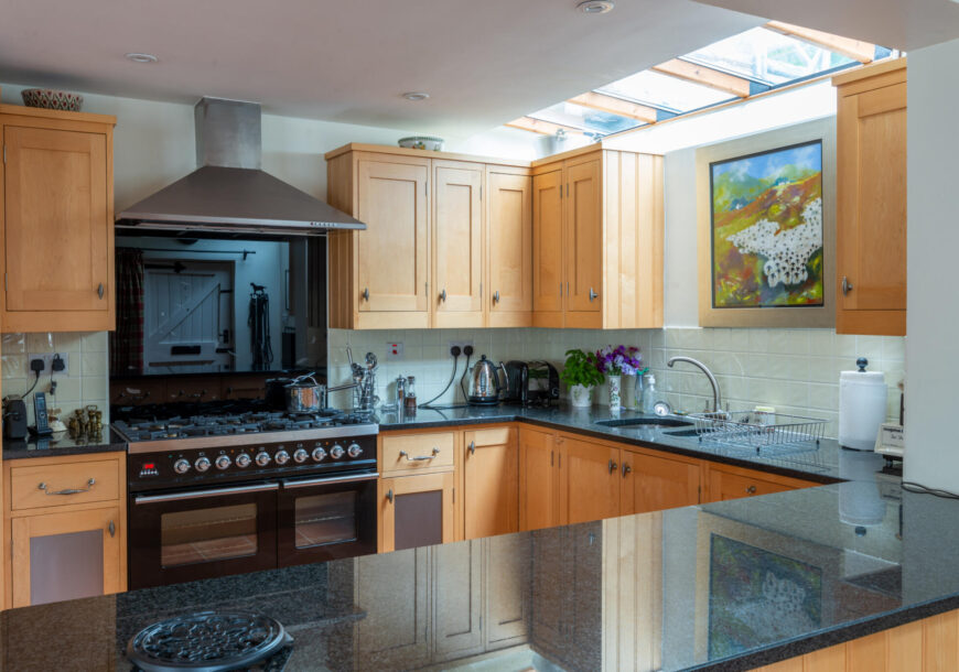 Approved Used Kitchen, In Frame, Pantry, Britannia Range Oven, Warwickshire