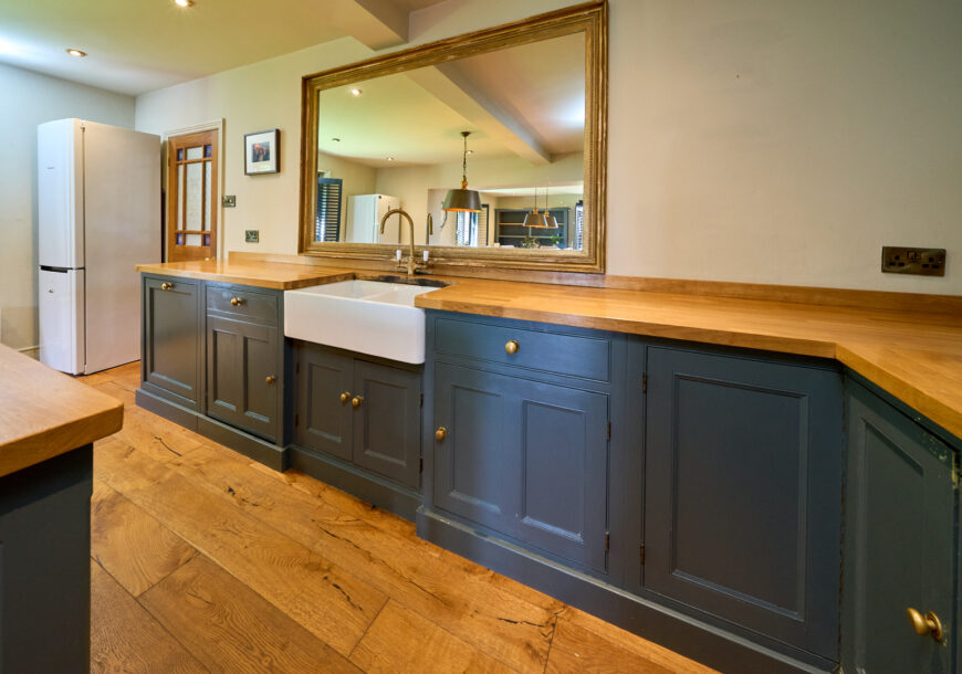 Approved Used Kitchen, Large Painted In Frame, Dresser, Yorkshire