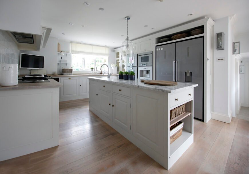 Approved Used Kitchen, Plain English Painted In Fr...
