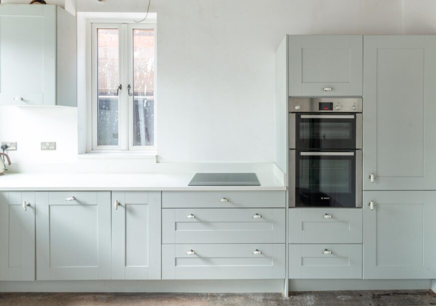 Approved Used Kitchen, Smaller Painted Shaker, West Midlands
