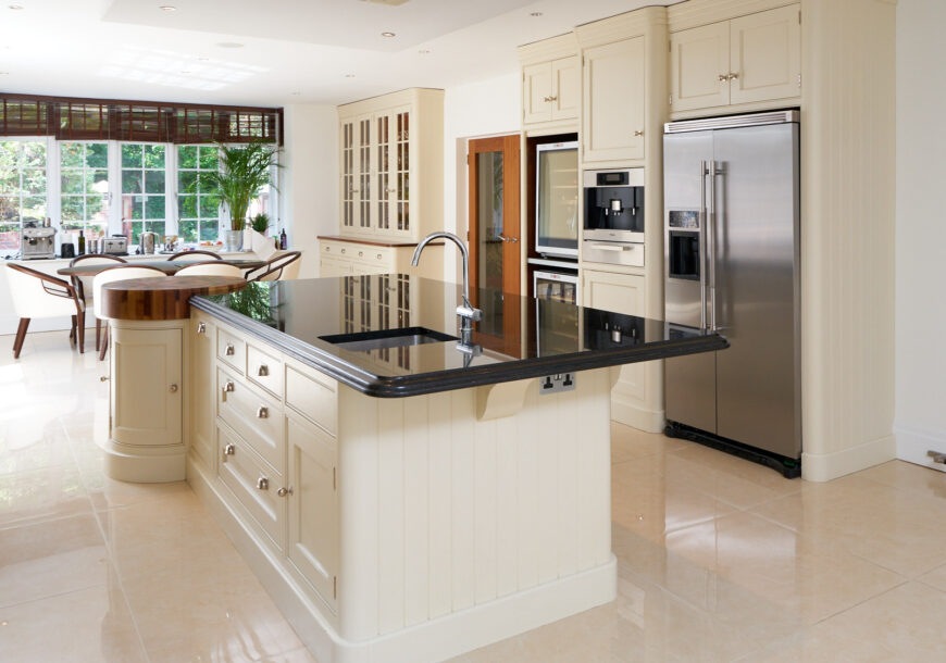 Approved Used Kitchen, Large Tom Howley In Frame, Falcon Range Oven, Cheshire
