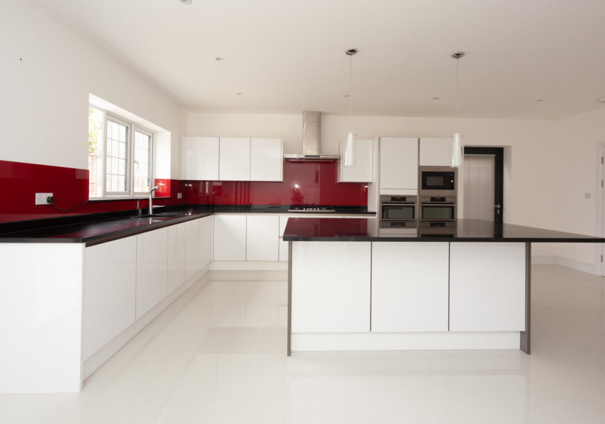 Approved Used Kitchen, Modern Handleless, AEG Appl...