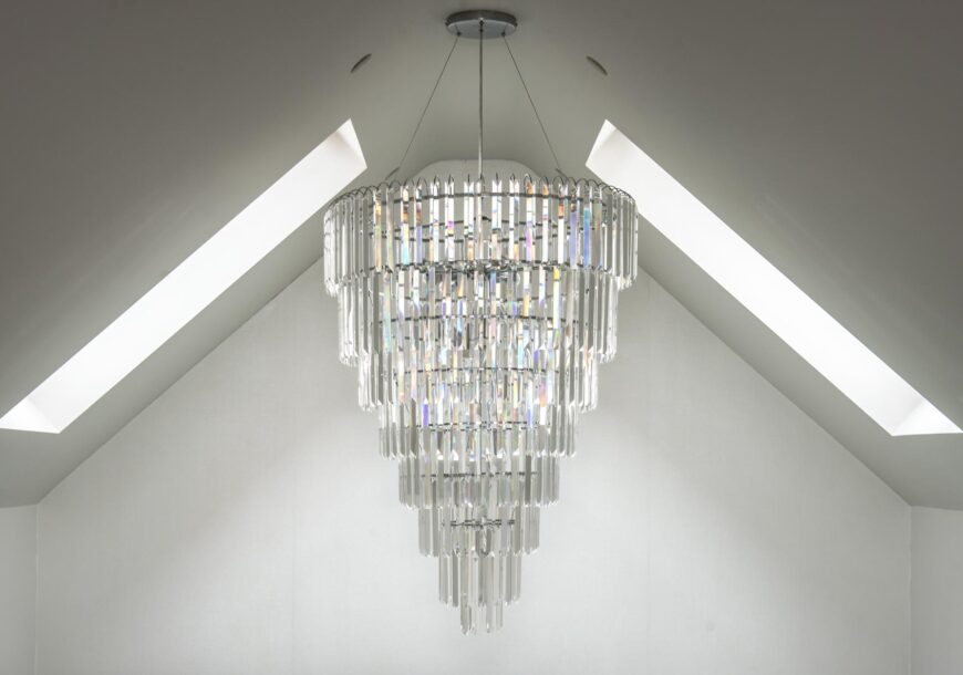 Approved Used Very Large Waterfall Crystal Chandel...