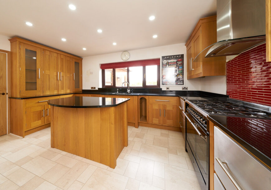 Approved Used Kitchen, Classic In Frame, Smeg Range Oven, Lancashire