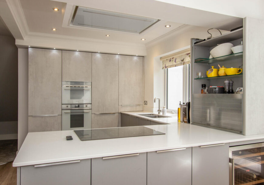Approved Used Kitchen, Hacker (German) Systemat, Dorset