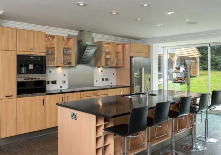 Approved Used Kitchen, German, Miele Appliances, Essex