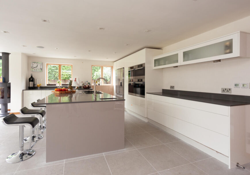 Approved Used Kitchen, Large Anthony Mullan, Miele Appliances, Berkshire