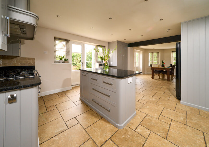 Approved Used Kitchen, Large Mark Wilkinson, Falcon Range Oven, Cheshire