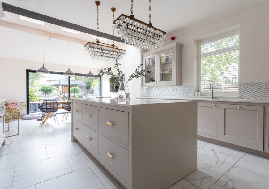 Approved Used Kitchen, Painted In Frame Shaker, No...