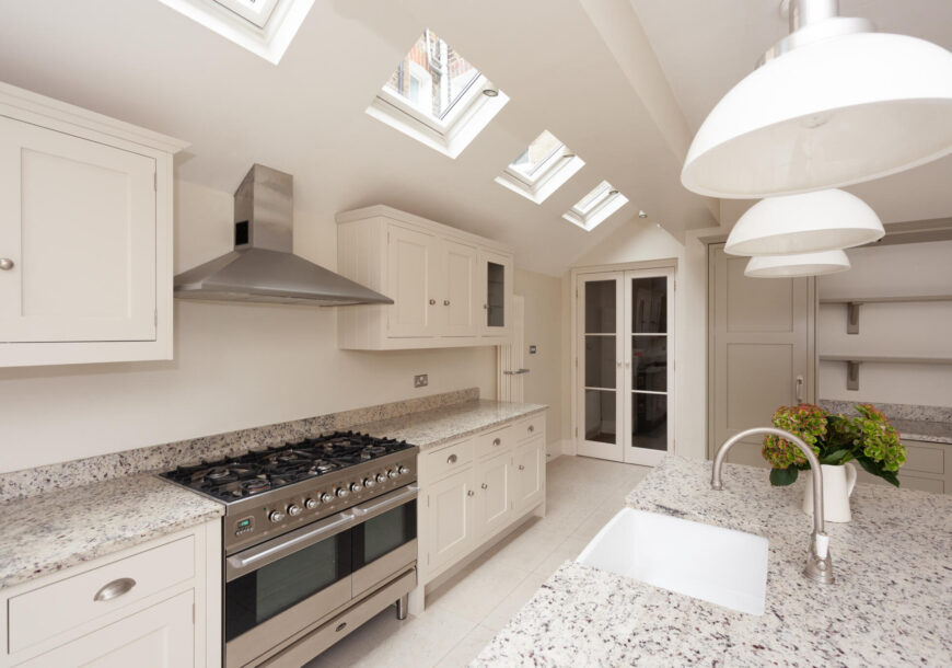 Approved Used Kitchen, John Lewis Of Hungerford Shaker, Britannia Range Oven, London