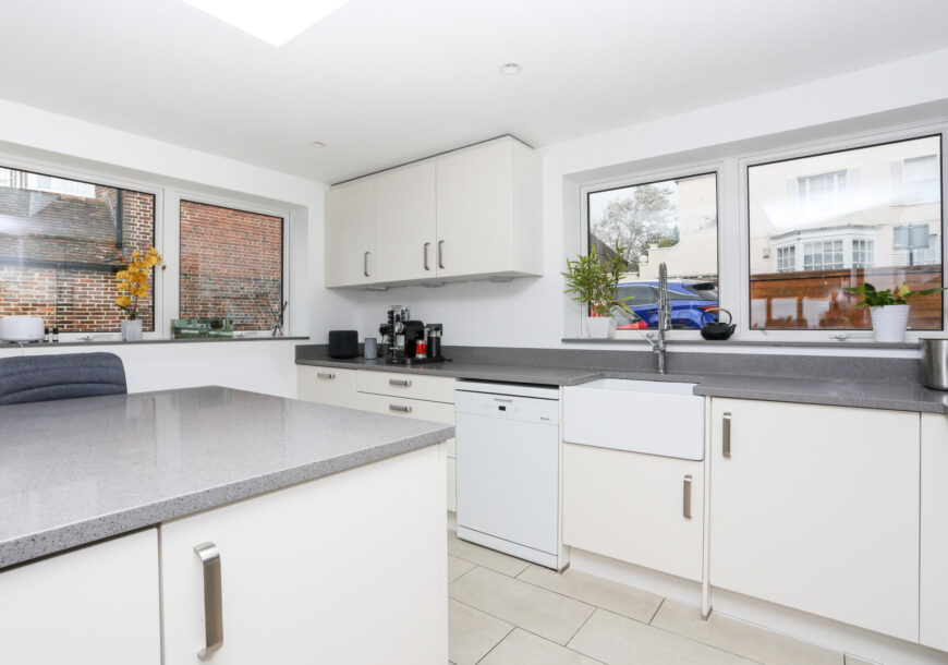 Approved Used Kitchen, Large Modern With Utility, Rangemaster Oven, East Sussex