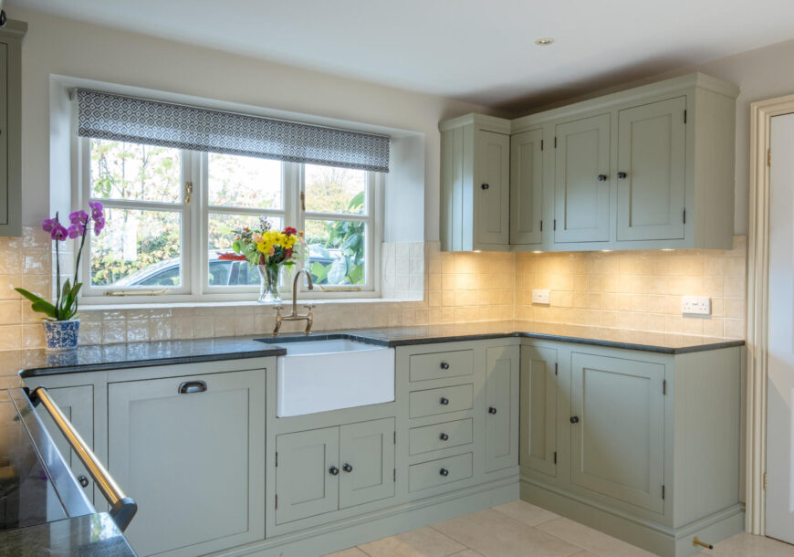 Approved Used Kitchen, Painted In Frame, Rangemaster Oven, Gloucestershire