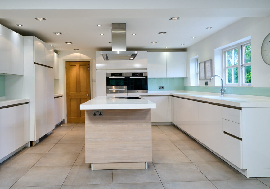 Approved Used Kitchen, SieMatic German Handleless, Miele Appliances, Cheshire