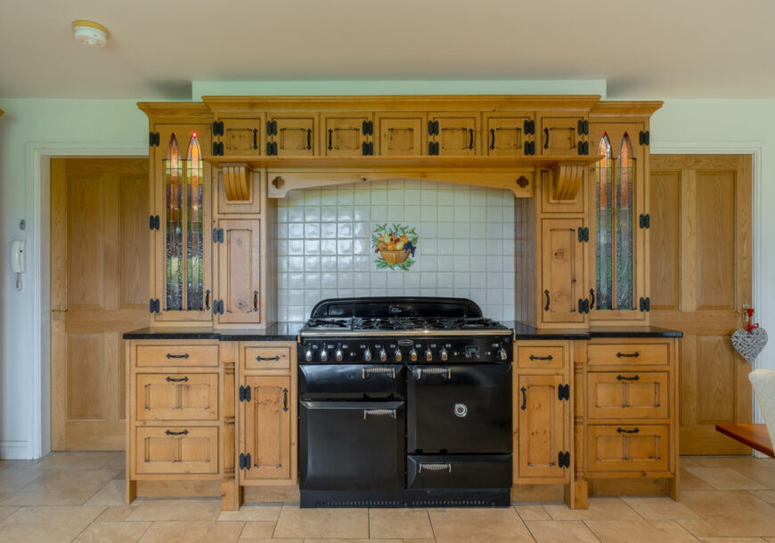 Approved Used Kitchen, Large Gothic In Frame, Rangemaster Oven, Utility, Derbyshire