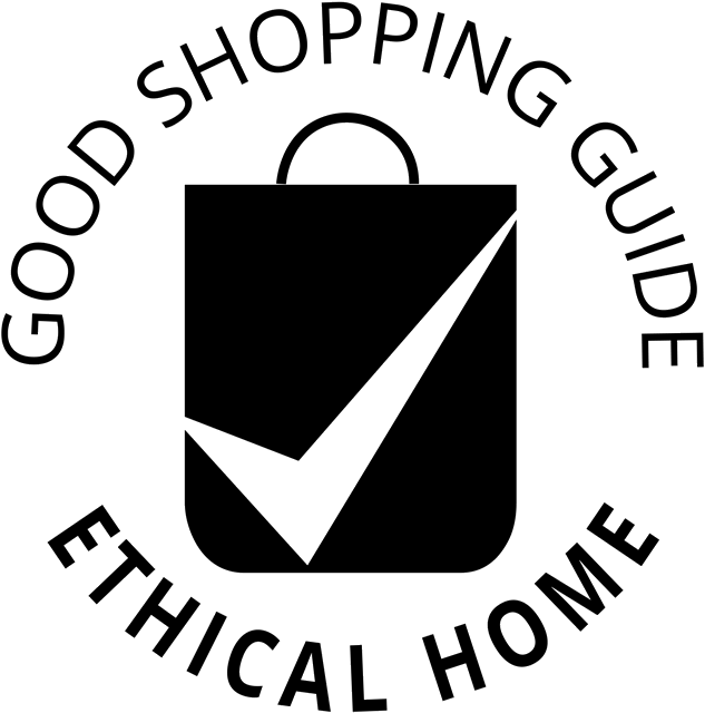 good shopping guide ethical home logo